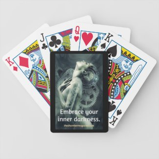 Embrace Your Inner Darkness 2 Bicycle Playing Cards