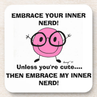 EMBRACE YOUR INNER NERD Coasters - Set of 6