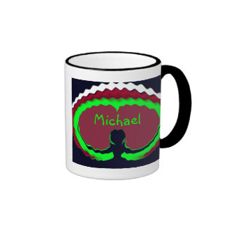 Embraceable Heart Personalized Mug