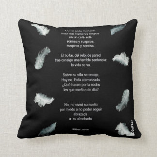 """Embraced cushion """"to its pillow """""""