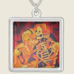 Embracing Death Necklace