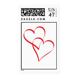 Embracing Hearts Postage