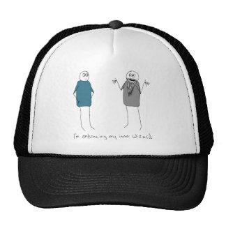Embracing My Inner Wizard Trucker Hat
