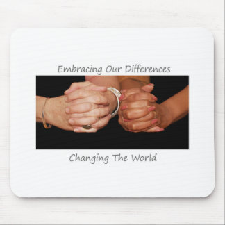 Embracing Our DIfferences Mouse Pad