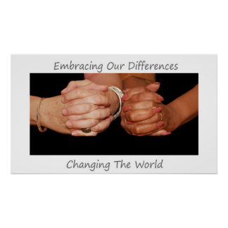 Embracing Our DIfferences Poster