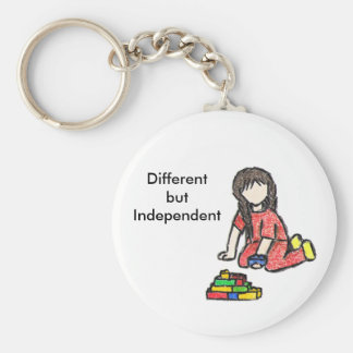 Embracing the Diversity Basic Round Button Keychain