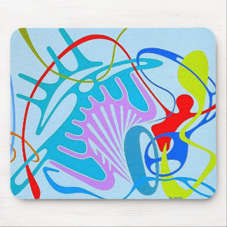 Embracing the Liberty by Metin Mouse Pad