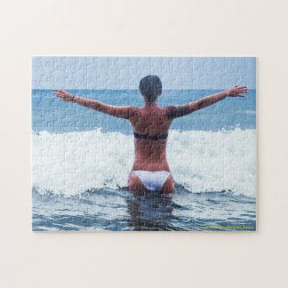 Embracing the Ocean Jigsaw Puzzle