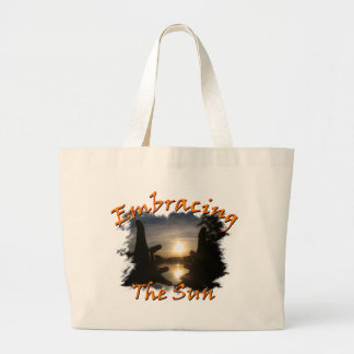 Embracing The Sun Tote Bags