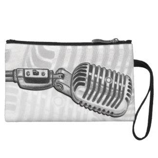 Embrague del micrófono del vintage mini
