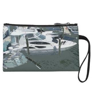 Embrague del puerto deportivo del barco mini
