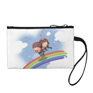 Embrague dominante de la moneda del arco iris