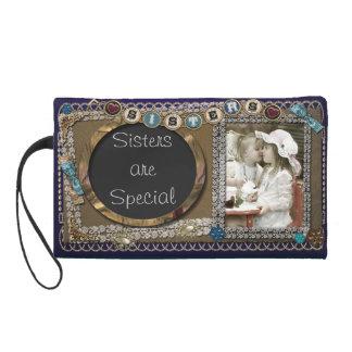 Embrague personalizado del bolso del monedero de l