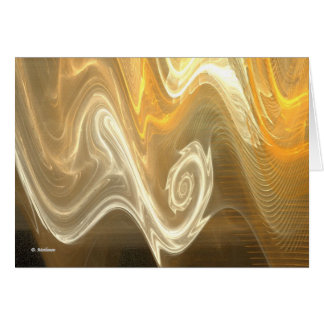 Embrión del fractal felicitacion