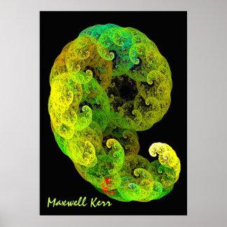 Embrión por el maxwell Kerr Póster