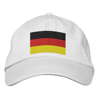 Embroider German Germany Flag Embroidered Baseball Hat