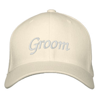 Embroider Gifts Groom Hat | Cap