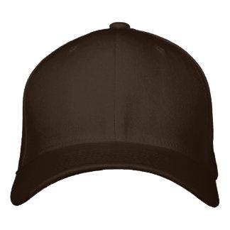 Embroider your own Brown Flexfit Wool Cap Baseball Cap