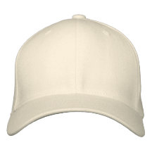 Embroider Your Own Flexfit Cap - Natural Embroidered Hat