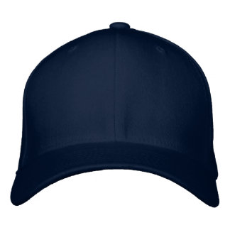 Embroider your own Navy Flexfit Wool Cap Embroidered Hats
