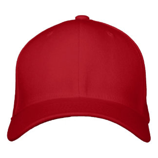 Embroider your own RED Flexfit Wool Cap