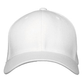 Embroider your own White Flexfit Wool Cap