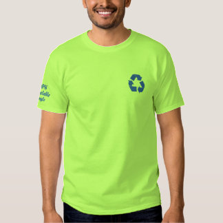 Embroidered 100% Recyclable Single T-Shirt