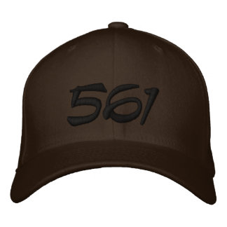 Embroidered 561 Hat Embroidered Baseball Cap