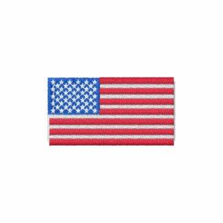 Embroidered American Flag Polo Shirt embroideredshirt