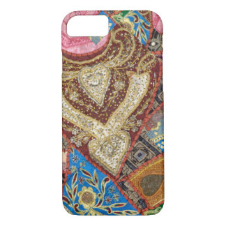 Embroidered and Beaded Textile iPhone 8/7 Case