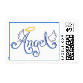 Embroidered Angel Postage