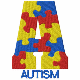 Embroidered Autism Awareness T-shirt