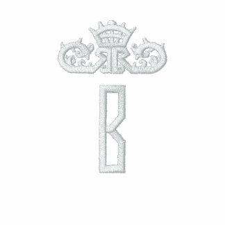 Embroidered B for Bridesmaid Shirt