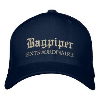 Embroidered Bagpiper Extraordinaire Music Cap