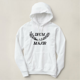 Embroidered Band Drum Major Hoodie