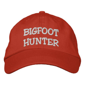 Embroidered BIGFOOT HUNTER Hat - *BOBO* Edition