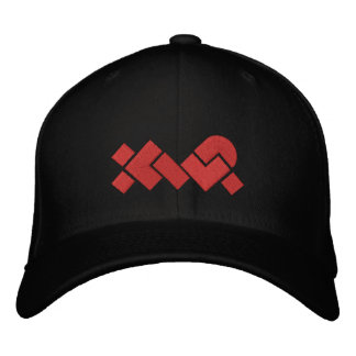 Embroidered Black/Red XWP Baseball Cap