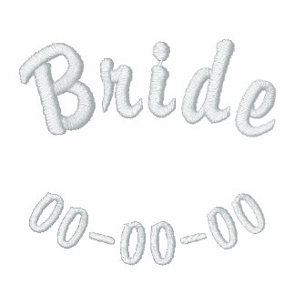 Embroidered Bride Shirt
