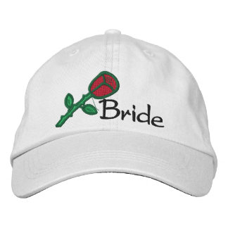 EMBROIDERED BRIDE WEDDING CAP