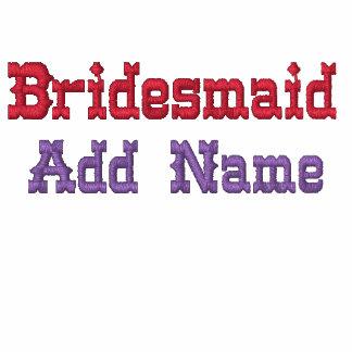Embroidered Bridesmaid Shirt