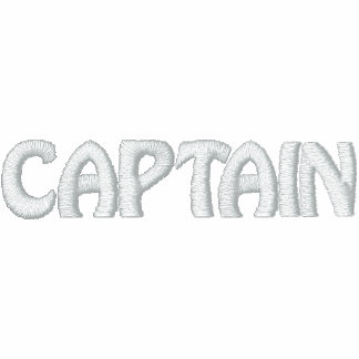 Embroidered CAPTAIN shirt - CUSTOMIZABLE Polo