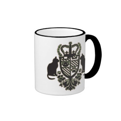 Embroidered_Cat Taza