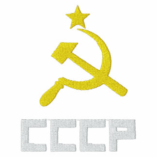 Embroidered CCCP Women T-Shirt