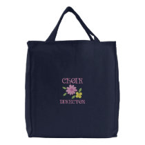 Embroidered Choir Director Tote Bag