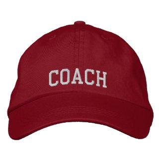 Embroidered Coach Baseball Cap/Hat Cap