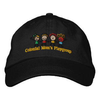 Embroidered Colonial Mom's Member Cap