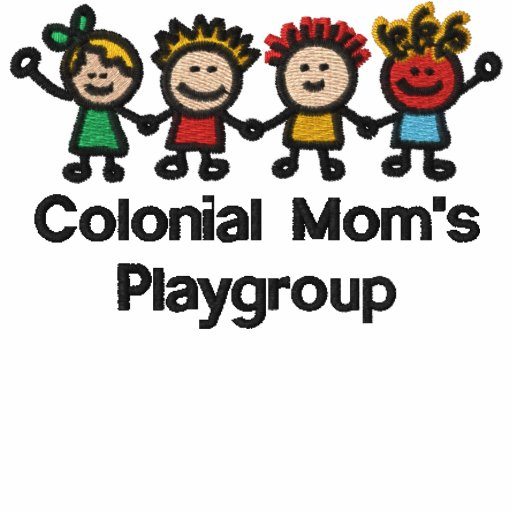 Embroidered Colonial Mom's Member T-Shirt
