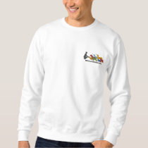Embroidered Color Logo Sweatshirt