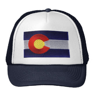 Embroidered Colorado Flag Hat