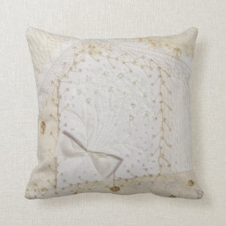 Embroidered Crazy Quilt Designed Pillow